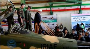 Iran rozpoczął masową produkcję zaprojektowanego w tym kraju myśliwca