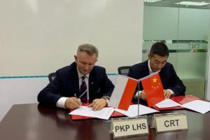 Pociągi do Chin z polską żywnością ominą Rosję