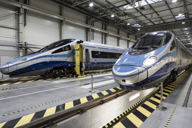 Alstom zakończył przeglądy Pendolino