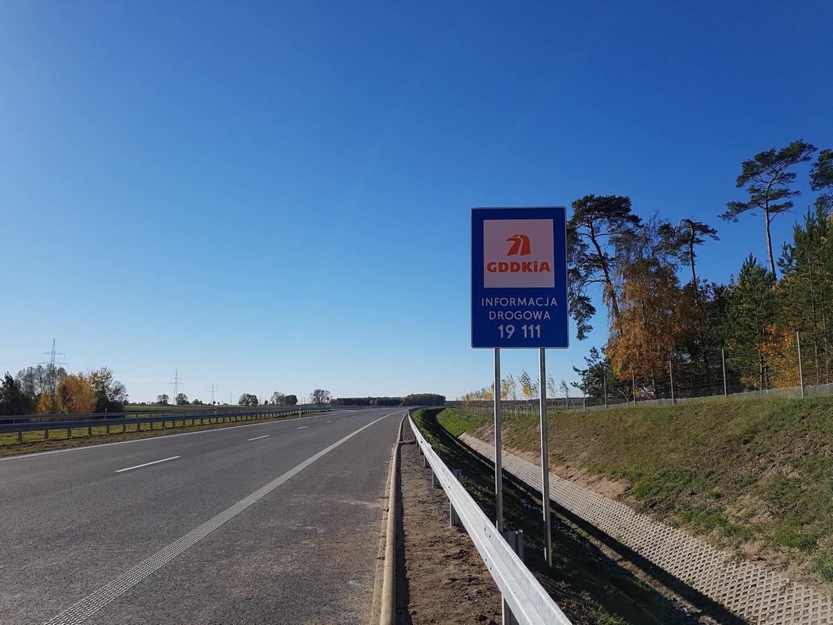 Fragment drogi ekspresowej S5 Radomicko - Leszno. fot. GDDKiA