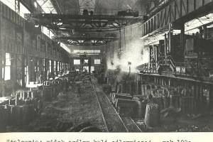 Huta Falva - stalownia w roku 1920.