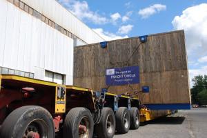 220 ton na 12 osiach i pod prąd - Fracht FWO dostarczy każdy nietypowy ładunek