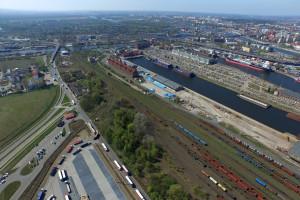 Nowe inwestycje kolejowe w portach Szczecin i Świnoujście
