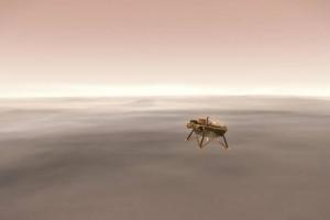 W poniedziałek na Marsie wyląduje amerykańska sonda InSight