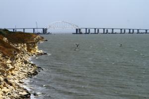 Rosjanie budowali most, a wyszła im barykada