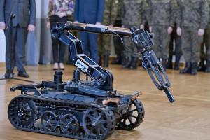 Polskie roboty wesprą wojskowe misje (zobacz wideo)