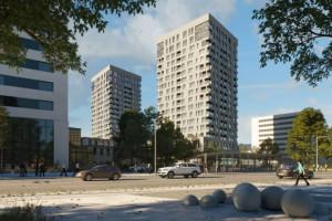 Dwie wieże staną w centrum Katowic