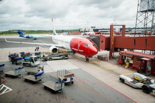 Samolot uderzył w budynek w porcie lotniczym Sztokholmu