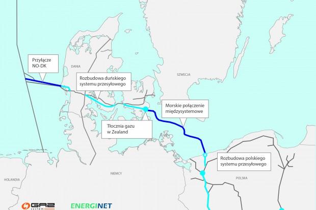 Gazociągiem Baltic Pipe od października 2022 r. będzie można sprowadzać rocznie do 10 mld m sześc. gazu ziemnego ze złóż na Norweskim Szelfie Kontynentalnym.