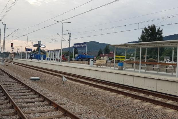 Inwestycja kolejowa za 60 mln zł na Podbeskidziu ukończona