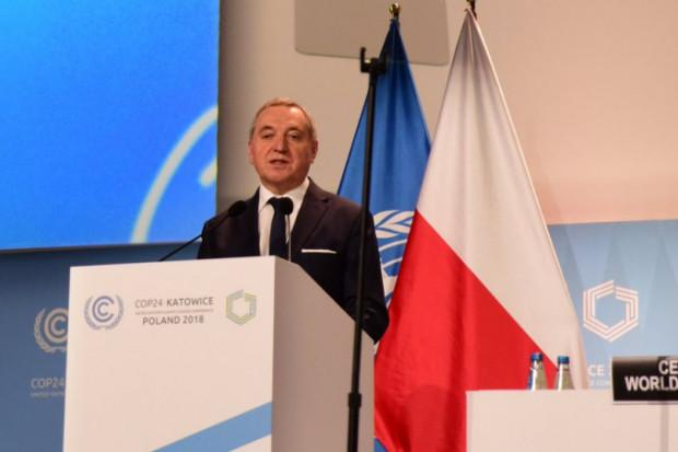 Minister środowiska: transformujemy energetykę przy jednoczesnym osiąganiu celów klimatycznych