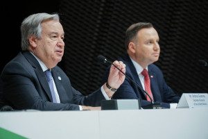 Zdjęcie numer 2 - galeria: Osobistości na szczycie klimatycznym COP24 w Katowicach