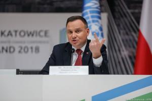 Prezydent o COP24: zorganizowaliśmy światową imprezę na najwyższym poziomie