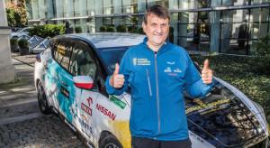 Samochodem elektrycznym odbył podróż liczącą 30 tys. km. Wierzy w polską elektromobilność