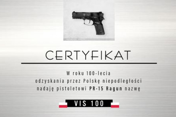 Nowy pistolet dla żołnierzy Wojska Polskiego