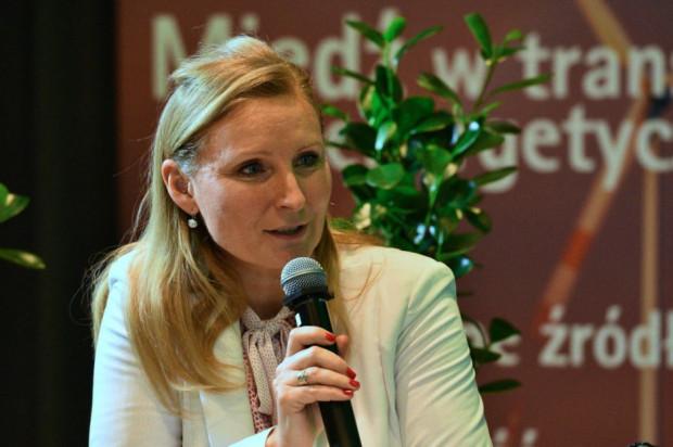Irena Pichola, Partner, Leader of Sustainability Consulting, Deloitte, zaprezentowała wyniki raportu. Fot. PTWP