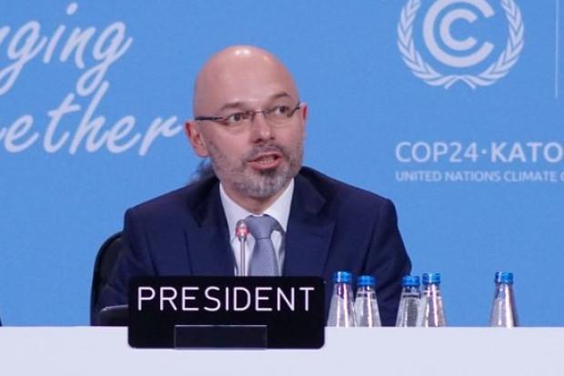 Michał Kurtyka, prezydent COP24: w drugim tygodniu wejdzie do gry polityka