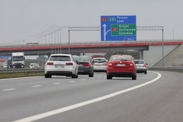 Poszerzą autostradę A2 między Łodzią a Warszawą