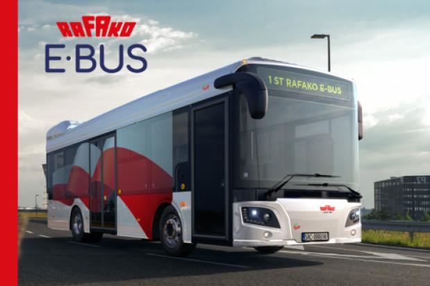 Rafako zaprezentuje prototyp autobusu elektrycznego