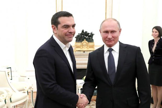 Rosja wabi Grecję projektami dostaw gazu do Europy