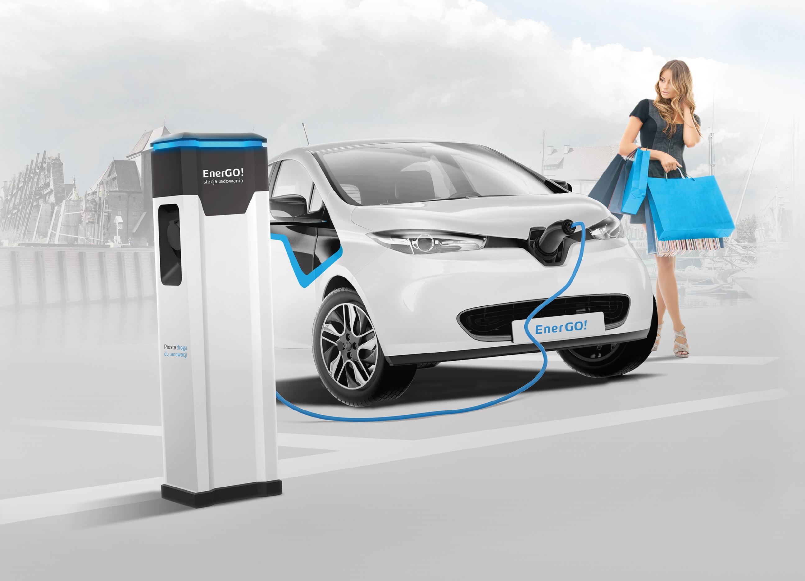 Z terminala będą mogły korzystać równocześnie dwa samochody. Fot. Energa