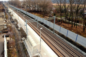 Nowość na trasie kolejowej Kraków - Katowice