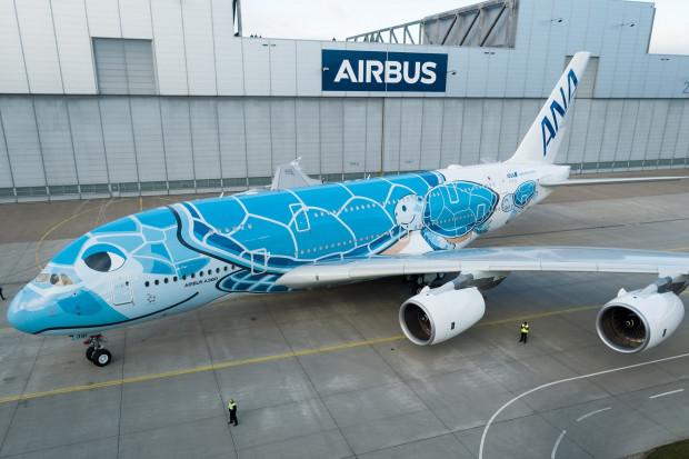 Pierwszy A380 dla Japończyków jest już gotowy
