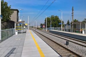 Finał modernizacji następnego odcinka linii kolejowej z polskich portów do Czech