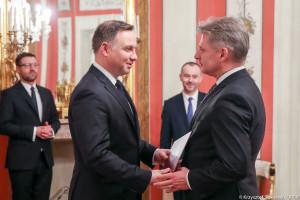 Zdzisław Sokal odwołany. Cezary Kochalski nowym przedstawicielem prezydenta w KNF