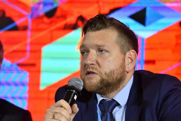 Janusz Gajowiecki - prezes zarządu Polskiego Stowarzyszenia Energetyki Wiatrowej (Fot. PTWP)