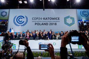 "The climate summit has ended. Parties adopted the ""Katowice Climate Package"""