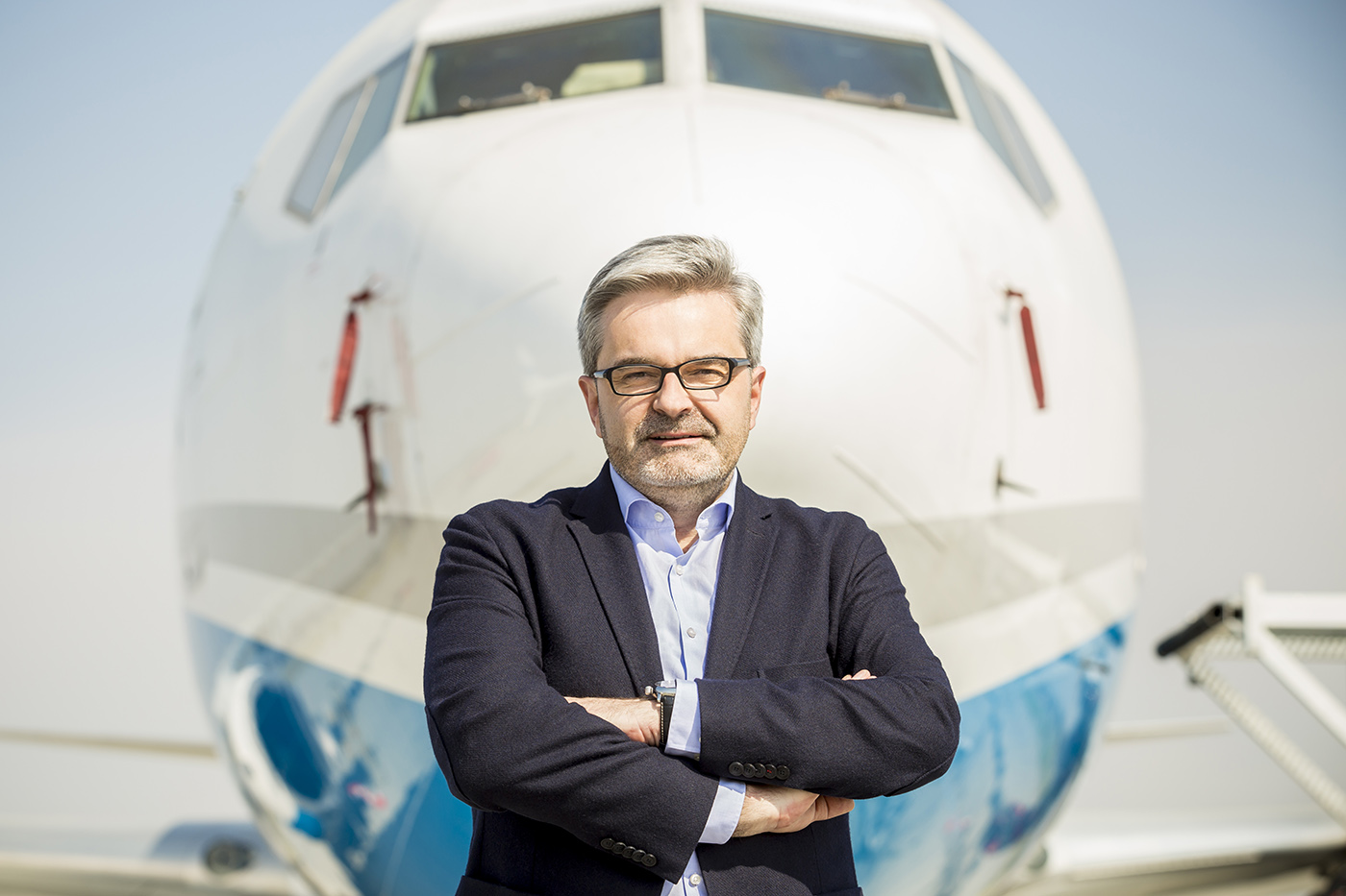 Prezes Górnośląskiego Towarzystwa Lotniczego, zarządzającego Międzynarodowym Portem Lotniczym Katowice w Pyrzowicach, prezes Związku Regionalnych Portów Lotniczych Artur Tomasik.