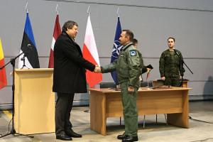 Polska nadzoruje niebo nad państwami bałtyckimi