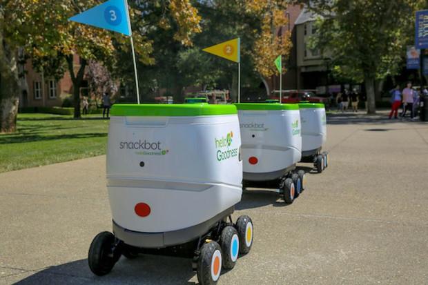 PepsiCo zatrudniło roboty, by dostarczać napoje i przekąski