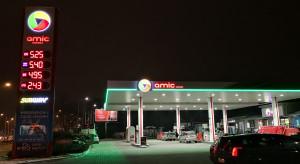 Pierwsza była stacja Lukoil w nowych barwach już działa