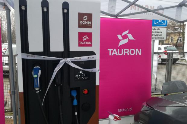 Tauron i KGHM otworzyły pierwszą stację ładowania samochodów elektrycznych