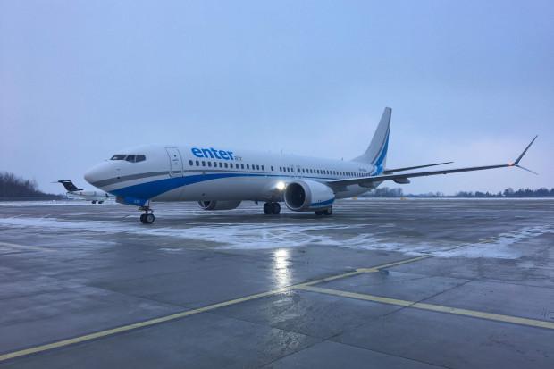 Drugi Boeing 737 MAX 8 dla Enter Air przyleciał do Warszawy