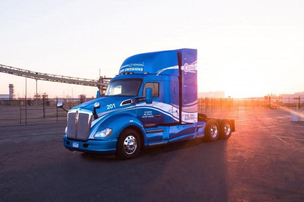 Toyota i Kenworth budują wodorowe ciężarówki dla portu w Los Angeles