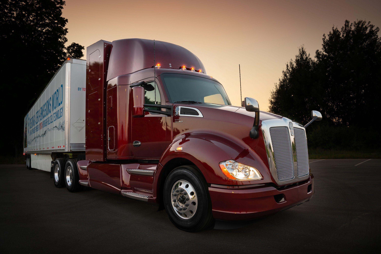 Kenworth jest jednym z większych producentów ciężarówek w USA (fot. mat. pras.)