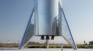 Elon Musk pokazał rakietę, która posłuży do dalekich lotów w kosmos
