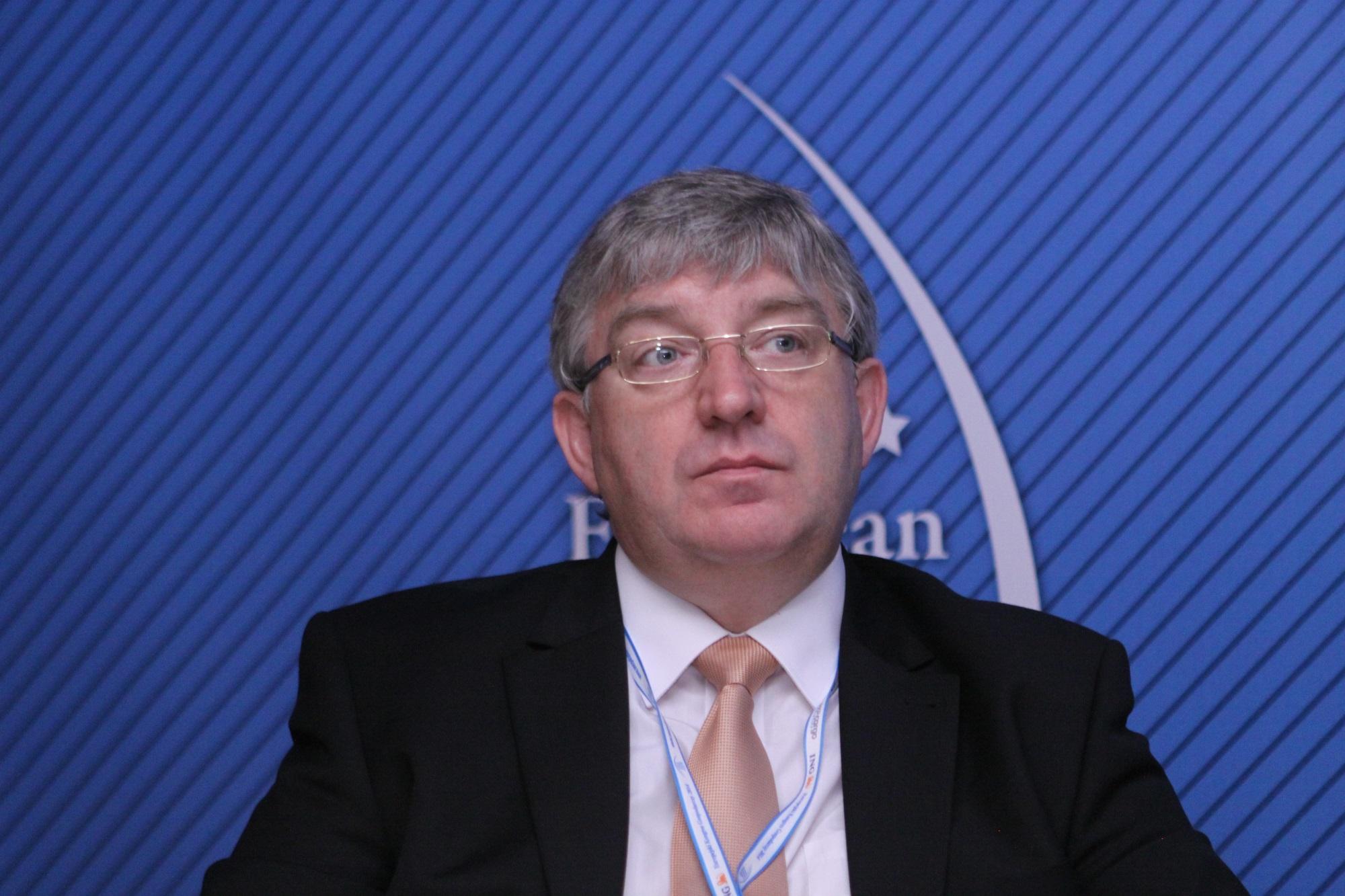 Jacek P. Krawczyk, sprawozdawca Europejskiego Komitetu Ekonomiczno-Społecznego w dziedzinie lotnictwa. Fot. PTWP