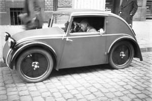 Pierwsza generacja samochodu Standard Superior konstrukcji Josefa Ganza - rok 1933. Fot. Materiały prasowe