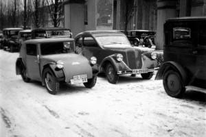 Standard Superior i Zundapp Typ 12 w roku 1933. Fot. Materiały prasowe