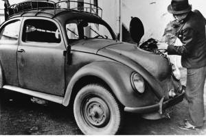 Volkswagen Type1 z napędem na węgiel drzewny z roku 1944. Fot. Materiały prasowe