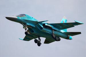 Dwa rosyjskie samoloty bojowe Su-34 zderzyły się w powietrzu