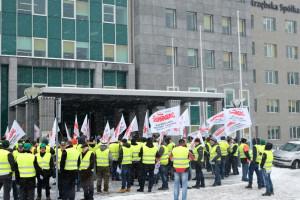 Protestu górniczych związkowców w Warszawie nie będzie. Na razie