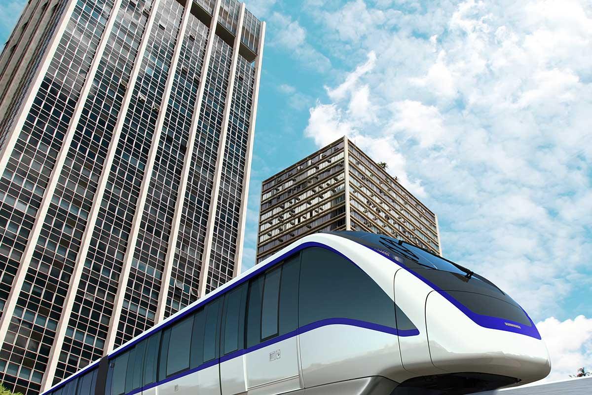 Dzisiejsze aglomeracje potrzebują takich rozwiązań jak metro czy Monorail - mówi Sławomir Nalewajka, prezes Bombardier Transportation ZWUS Polska (fot. NP)