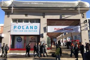 Polskie firmy w polskim domu w Davos