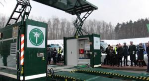 Lotna stacja kontroli ciężarówek rusza do akcji. To trzecie tak nowoczesne urządzenie w kraju