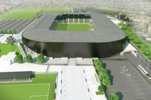 Wybrano budowniczego stadionu za 364 mln zł. Przetarg rozstrzygnięty